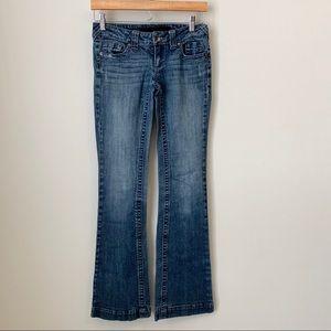 Refuge bootcut denim jeans